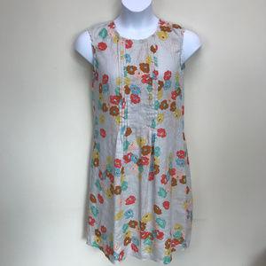 Zyga Lin'n Laundry 100% Linen Floral Dress